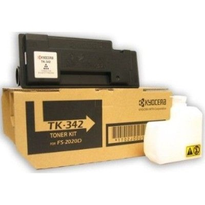 TK-342 Toner Cartridge - Kyocera Mita Genuine OEM (Black)