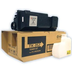 TK-352 Toner Cartridge - Kyocera Mita Genuine OEM (Black)