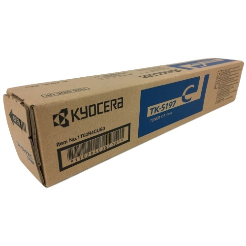 TK-5197C Toner Cartridge - Kyocera Mita Genuine OEM (Cyan)