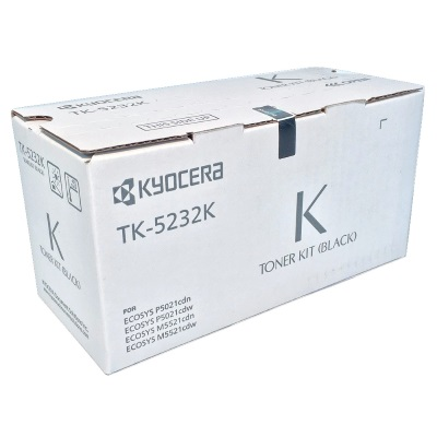TK-5232K Toner Cartridge - Kyocera Mita Genuine OEM (Black)