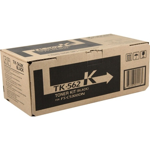 TK-562K Toner Cartridge - Kyocera Mita Genuine OEM (Black)