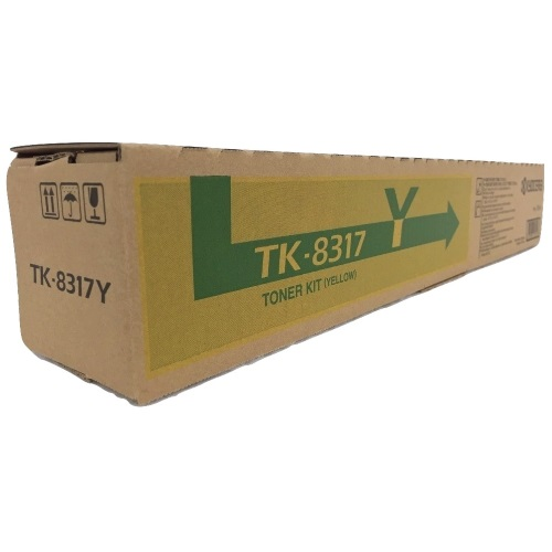TK-8317Y Toner Cartridge - Kyocera Mita Genuine OEM (Yellow)