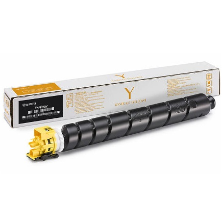 TK-8337Y Toner Cartridge - Kyocera Mita Genuine OEM (Yellow)