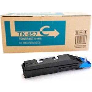 TK-857C Toner Cartridge - Kyocera Mita Genuine OEM (Cyan)