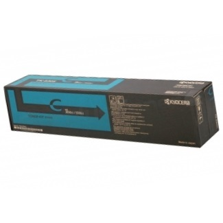 TK-8707C Toner Cartridge - Kyocera Mita Genuine OEM (Cyan)