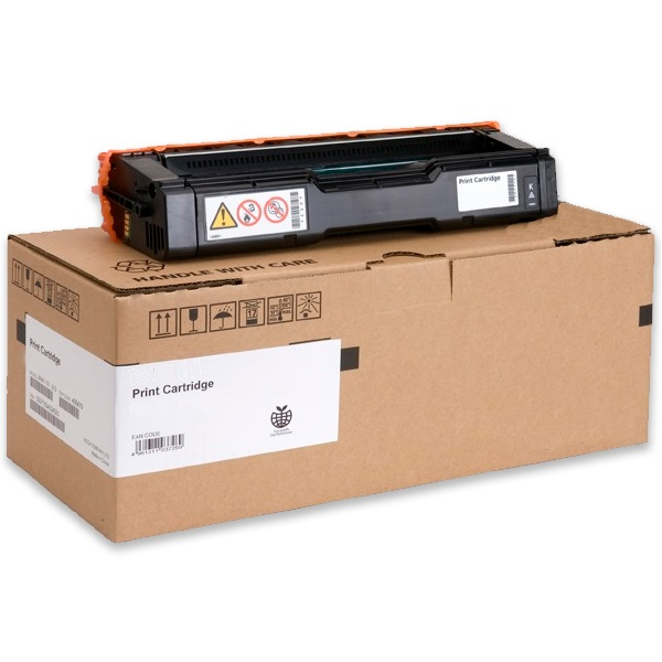 Lanier 407653 Toner Cartridge - Lanier Genuine OEM (Black)