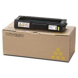 Lanier 407898 Toner Cartridge - Lanier Genuine OEM (Yellow)