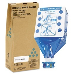 Lanier 841289 Toner Cartridge - Lanier Genuine OEM (Cyan)