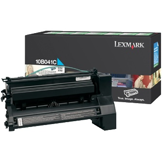 10B041C Toner Cartridge - Lexmark Genuine OEM (Cyan)