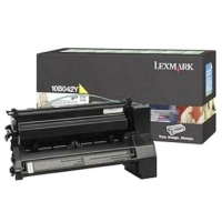 10B042Y Toner Cartridge - Lexmark Genuine OEM (Yellow)