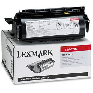 12A6835 Toner Cartridge - Lexmark Genuine OEM (Black)