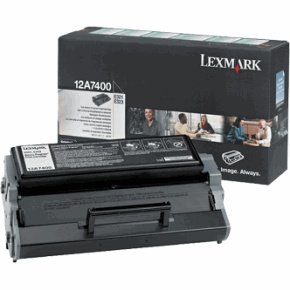 12A7400 Toner Cartridge - Lexmark Genuine OEM (Black)