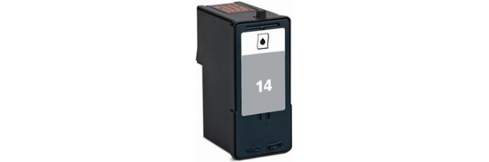 Lexmark #14 Ink Cartridge - Lexmark Remanufactured (Black)