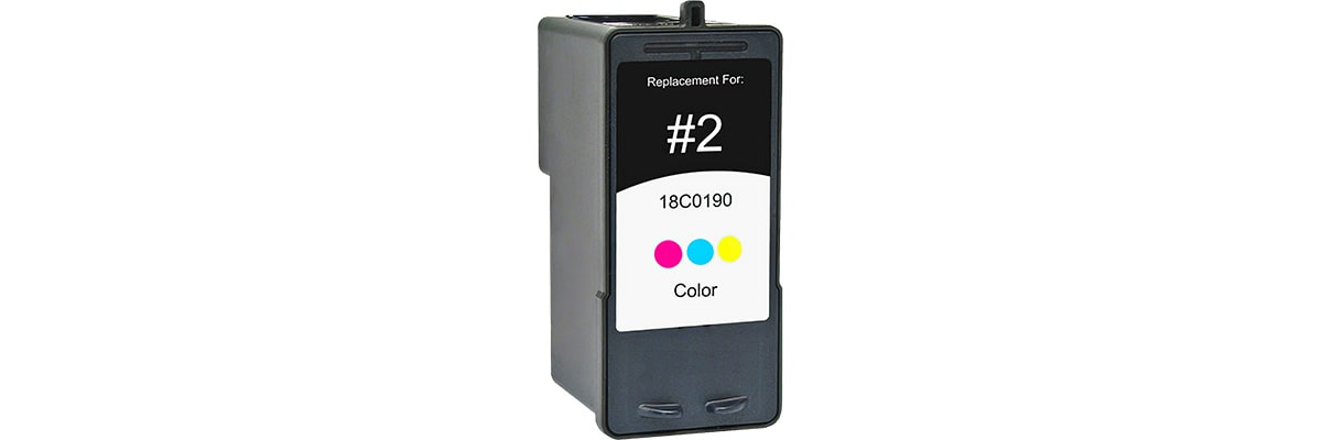 Lexmark #2 Ink Cartridge - Lexmark Remanufactured (Color)