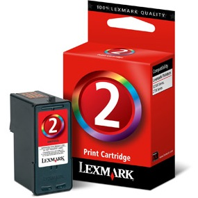 Lexmark #2 Ink Cartridge - Lexmark Genuine OEM (Color)