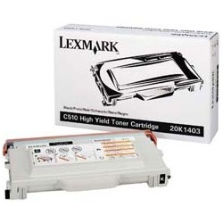 20K1403 Toner Cartridge - Lexmark Genuine OEM (Black)