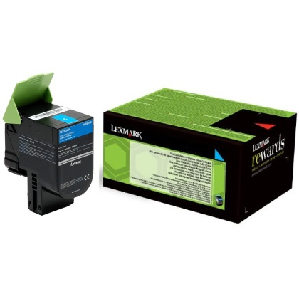 24B6008 Toner Cartridge - Lexmark Genuine OEM (Cyan)