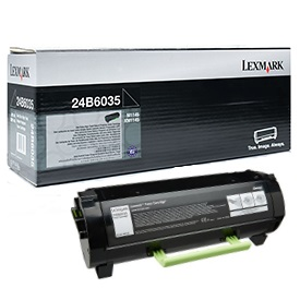 24B6035 Toner Cartridge - Lexmark Genuine OEM (Black)