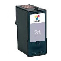Lexmark #31 Ink Cartridge - Lexmark Remanufactured (Photo Color)