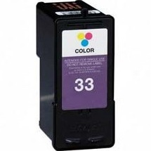 Lexmark #33 Ink Cartridge - Lexmark Remanufactured (Color)