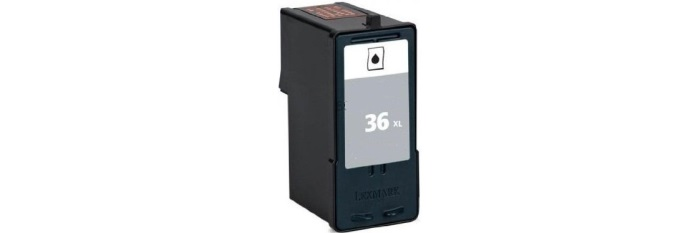 Lexmark #36XL Ink Cartridge - Lexmark Remanufactured (Black)