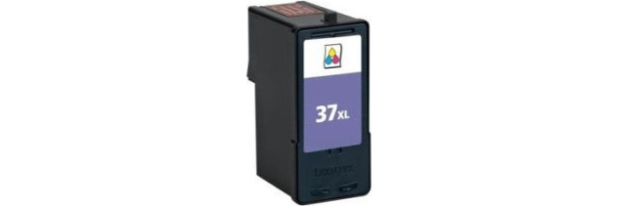 Lexmark #37XL Ink Cartridge - Lexmark Remanufactured (Color)