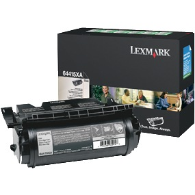 64415XA Toner Cartridge - Lexmark Genuine OEM (Black)