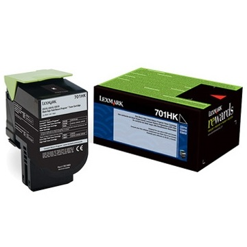 70C1HK0 Toner Cartridge - Lexmark Genuine OEM (Black)