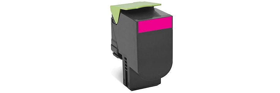 70C1HM0 Toner Cartridge - Lexmark Remanufactured (Magenta)