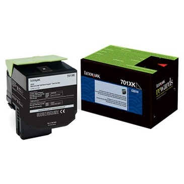 70C1XK0 Toner Cartridge - Lexmark Genuine OEM (Black)