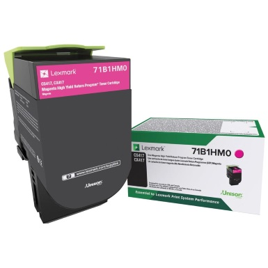 71B1HM0 Toner Cartridge - Lexmark Genuine OEM (Magenta)
