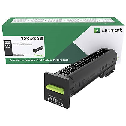 72K1XK0 Toner Cartridge - Lexmark Genuine OEM (Black)