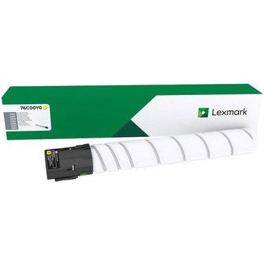 76C00Y0 Toner Cartridge - Lexmark Genuine OEM (Yellow)