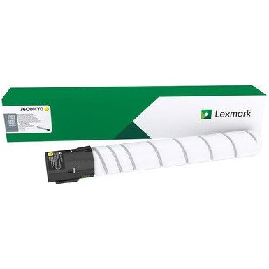 76C0HY0 Toner Cartridge - Lexmark Genuine OEM (Yellow)