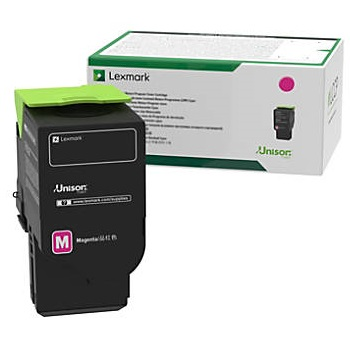 78C1UM0 Toner Cartridge - Lexmark Genuine OEM (Magenta)