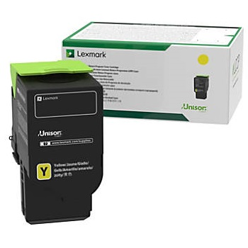 78C1UY0 Toner Cartridge - Lexmark Genuine OEM (Yellow)