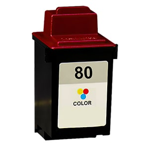 Lexmark #80 Ink Cartridge - Lexmark Remanufactured (Color)