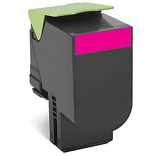 80C1HM0 Toner Cartridge - Lexmark Remanufactured (Magenta)