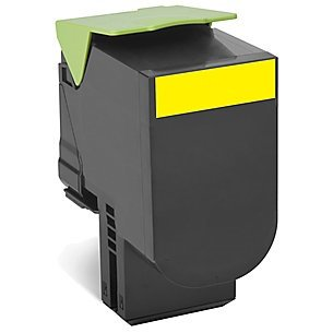 80C1HY0 Toner Cartridge - Lexmark Compatible (Yellow)