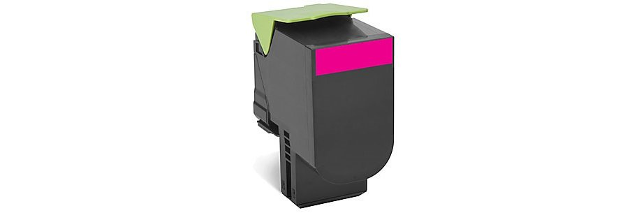 80C1SM0 Toner Cartridge - Lexmark Remanufactured (Magenta)