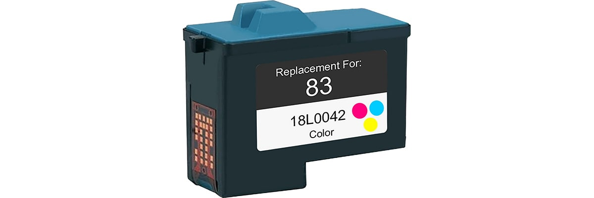 Lexmark #83 Ink Cartridge - Lexmark Remanufactured (Color)