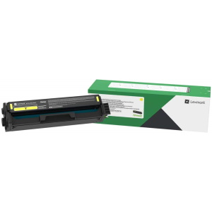 C331HY0 Toner Cartridge - Lexmark Genuine OEM (Yellow)