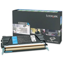 C5200CS Toner Cartridge - Lexmark Genuine OEM (Cyan)