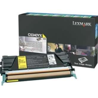 C5340YX Toner Cartridge - Lexmark Genuine OEM (Yellow)