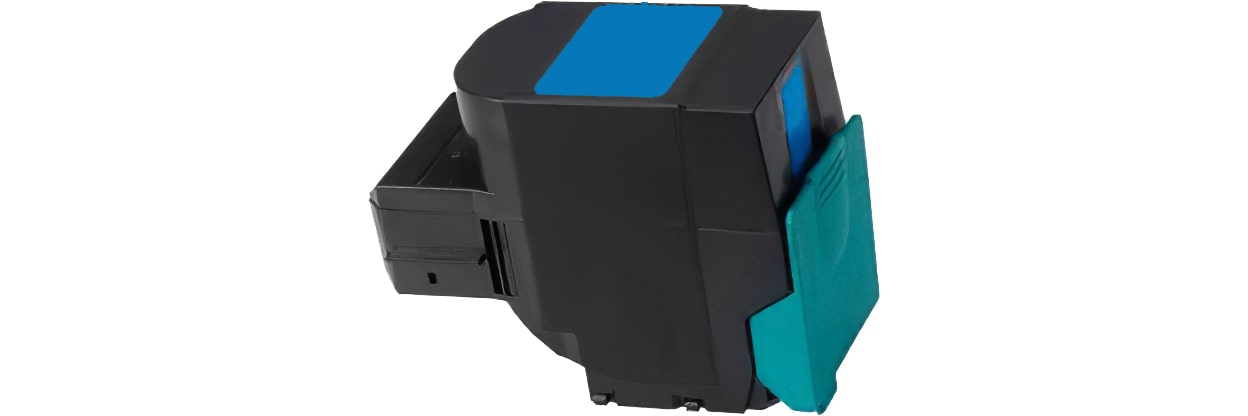 C540H1CG Toner Cartridge - Lexmark Remanufactured (Cyan)