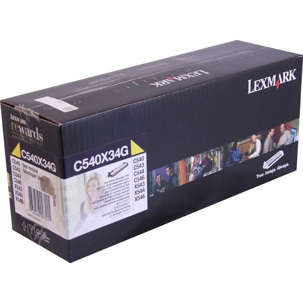C540X34G Photodeveloper - Lexmark Genuine OEM (Yellow)