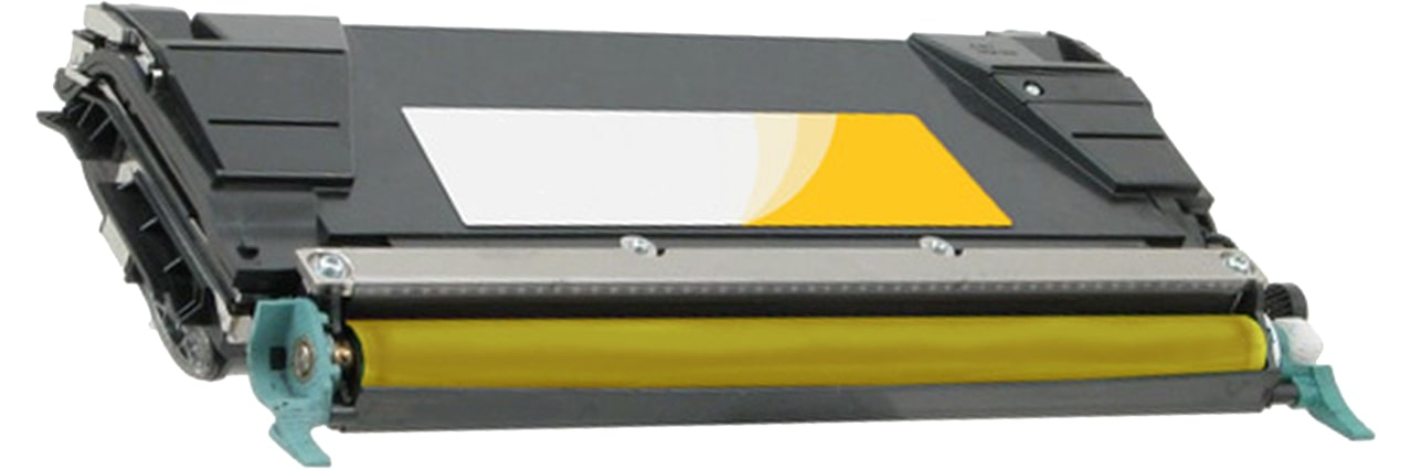 C746A1YG Toner Cartridge - Lexmark Remanufactured (Yellow)