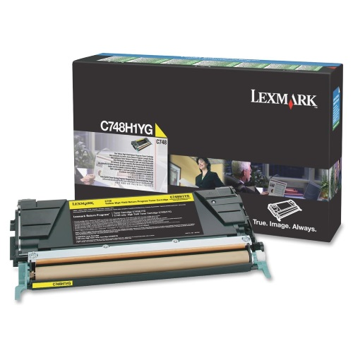 C748H1YG Toner Cartridge - Lexmark Genuine OEM (Yellow)