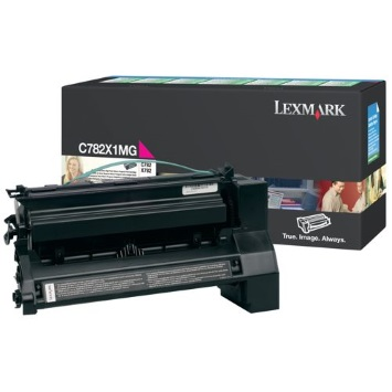 C782X1MG Toner Cartridge - Lexmark Genuine OEM (Magenta)