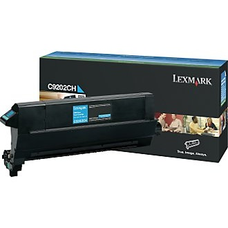 C9202CH Toner Cartridge - Lexmark Genuine OEM (Cyan)